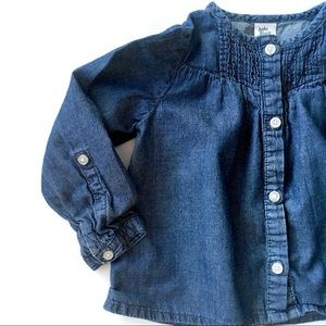 18-24M Light Denim Button-Down